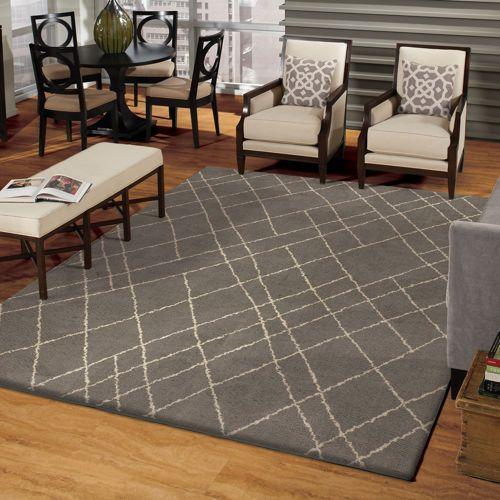 carolina fleece barber grey rug 6x9 or 7x10 160 200 - 6x9 Rugs