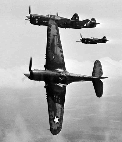 United States' Curtiss P-40 Warhawk fighter - World War II Vehicles, Tanks, and Airplanes