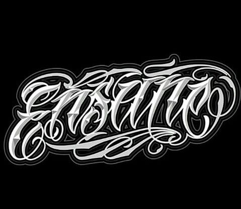 chicano lettering lettering pinterest kalligraphie. Black Bedroom Furniture Sets. Home Design Ideas