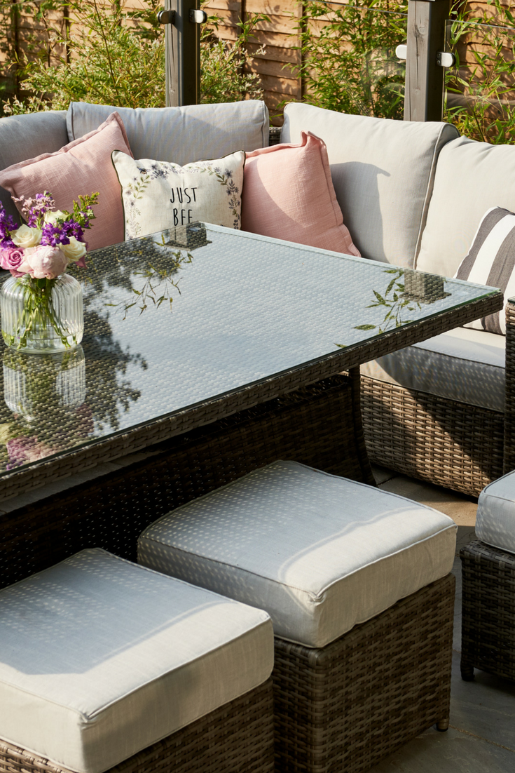 Get Hollie's look with luxury rattan furniture by Moda