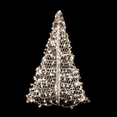 Crab Pot Trees White Wire Lighted Tree rainbow tree Pinterest