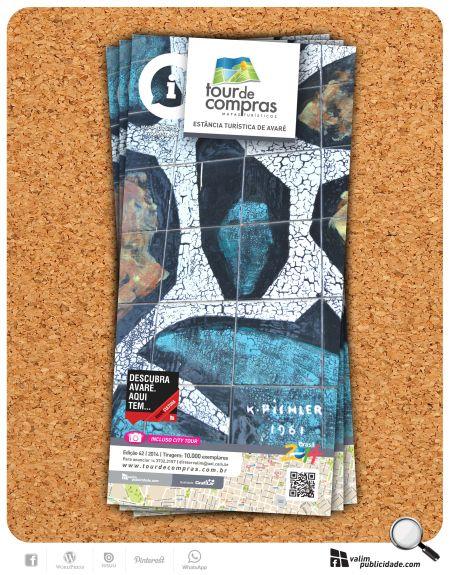 O guia/mapa traz a partir da próxima edição (Edic 62), informações a respeito de obras, artistas e monumentos da cidade da Estância Turística de Avaré. Este projeto inicia com os painéis do escultor e ceramista húngaro Karoly Pichler (1906-1982) doada pelo acadêmico Israel Dias Novaes na década de 1960.