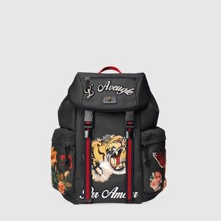70b35b580d7 best AAA high qualtiy replica Gucci mens backpacks techpack with embroidery  429037