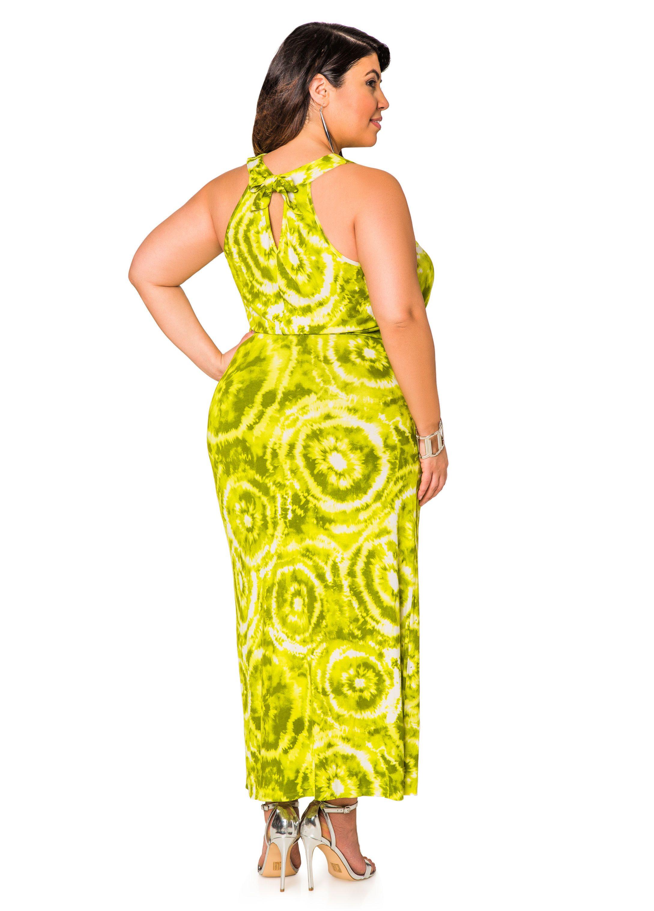 Stud Front Tie Dye Halter Maxi Dress Plus Size Dresses Ashley Stewart Halter Maxi Dresses Dresses Plus Size Maxi Dresses [ 3035 x 2178 Pixel ]