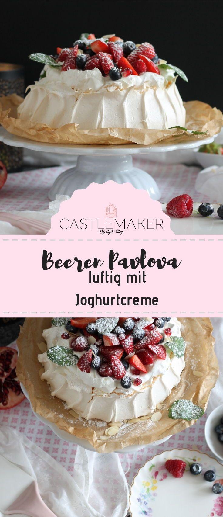 Beeren Pavlova - so geht das luftig leichte Dessert « CASTLEMAKER Lifestyle Blog