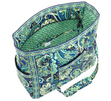 Get Carried Away Tote in Rhythm and Blues    Beth