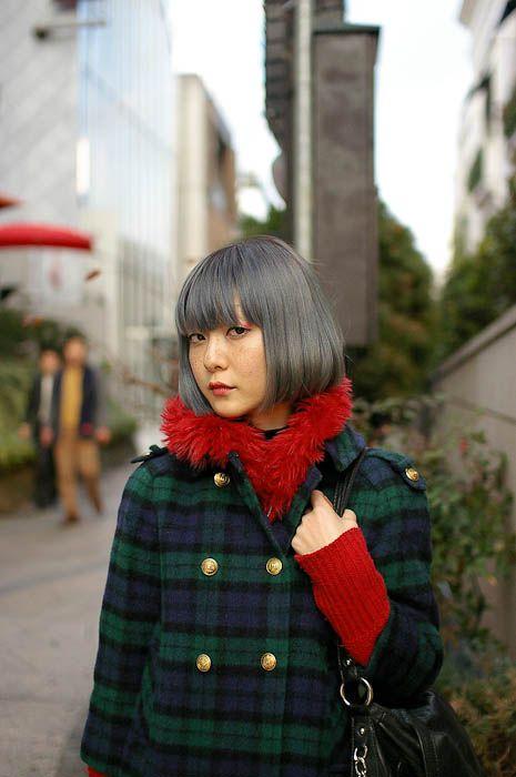 Gray hair. (from happytimefunblog.tumblr)