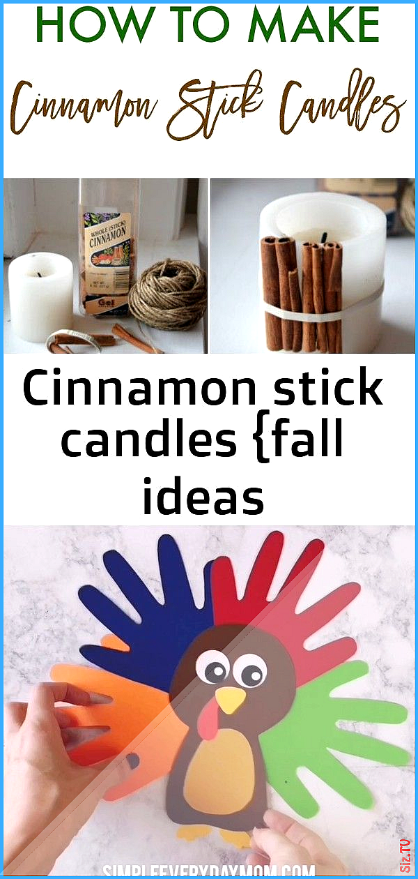 Cinnamon Stick Candles Fall Ideas Handprintturkey Cinnamon Stick Candles Fall Ideas In 2020 Thanksgiving Crafts For Kids Fun Thanksgiving Crafts Cinnamon Stick Candle