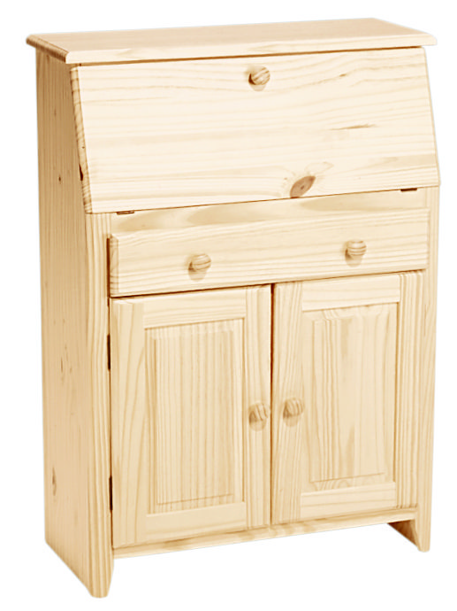 Unfinished Secretary Desk Desk Storage Secretarydesk Unfinished Solidwoodfurniture Unfinished Wood Furniture Built In Desk Solid Wood Furniture