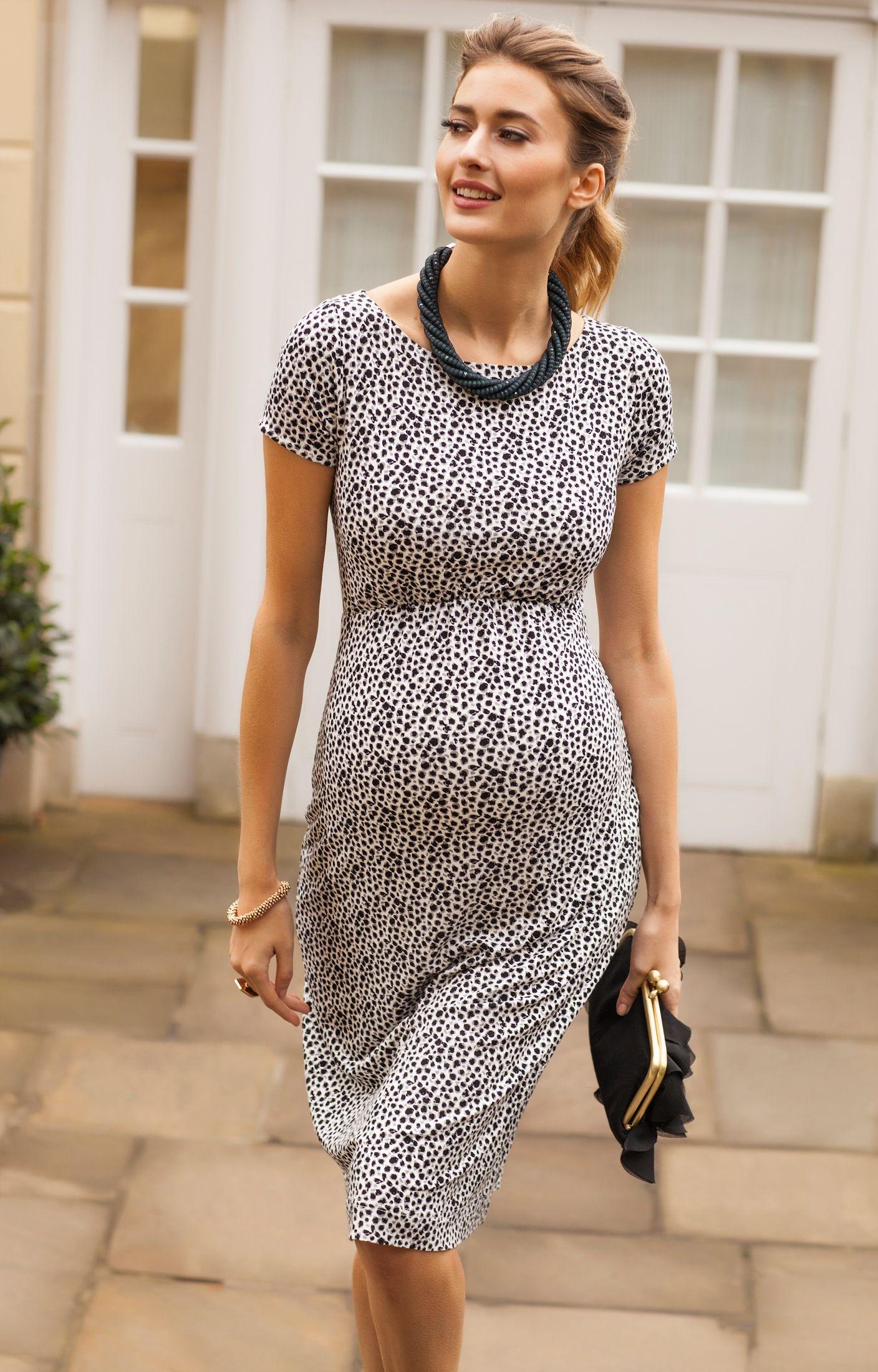 Sara Shift Dress | Mode für Schwangere, Schwangere und Schwangerschaft