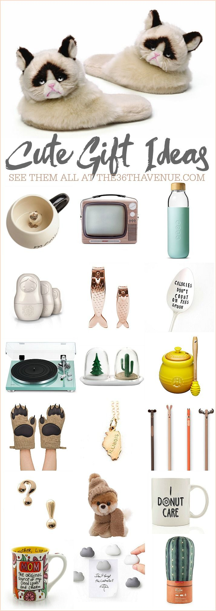 25 Gift Ideas - Cute Women Gifts | Unique gifts, Christmas gifts ...