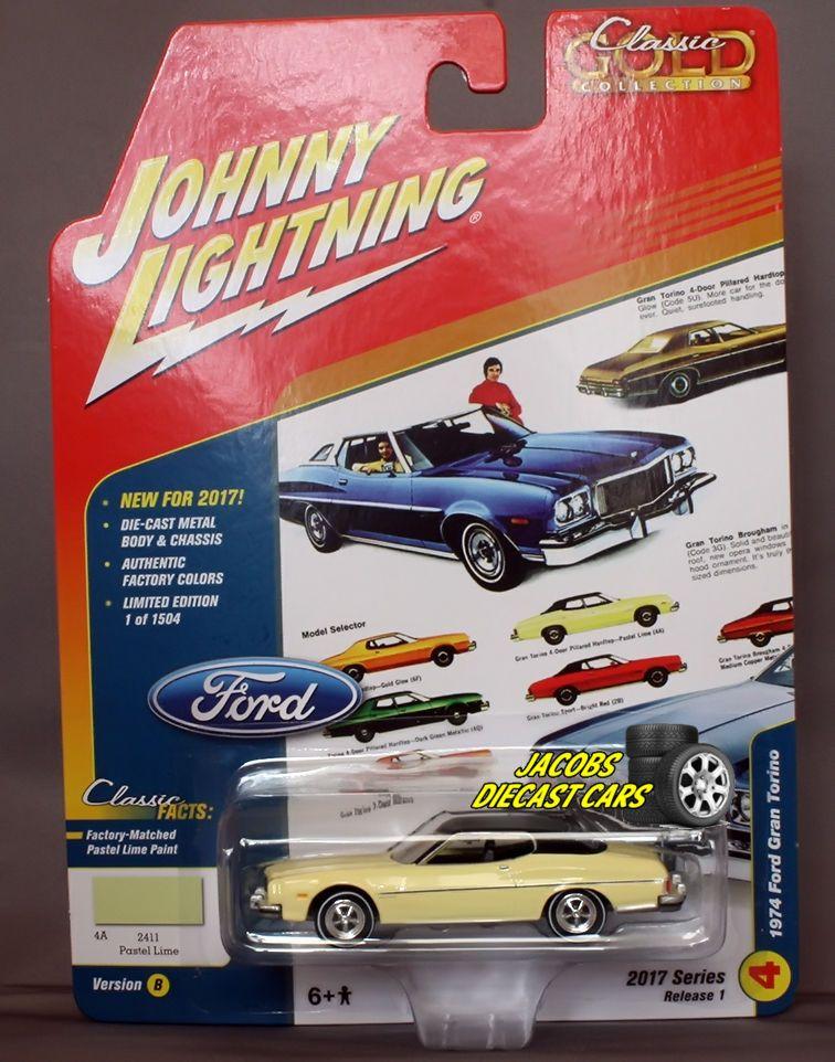 1//64 JOHNNY LIGHTNING MUSCLE SERIES 2 1971 Mercury Montego in Medium Blue Metall