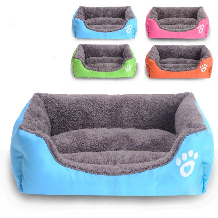 Soft Cloth Fabric Dog House Sofa Pet Bed Pet Dog Cat Kennel Furniture Dogs Indoor Sleeping Kennel Doghouse Pet Bed For Dog Pet Beds Puppy Cushion Cool Dog Beds