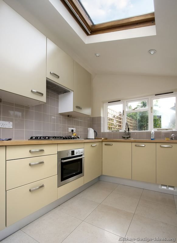 Pictures Of Kitchens Modern Beige Kitchen Cabinets Small