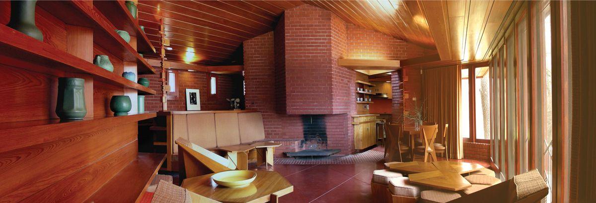 Inside Mansion Of Kirkwood: The Restored Kraus House In Saint Louis By Frank Lloyd