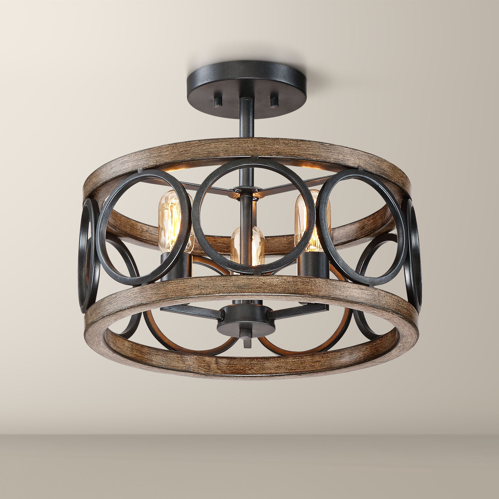 Home in 2020 Farmhouse ceiling light, Rustic ceiling