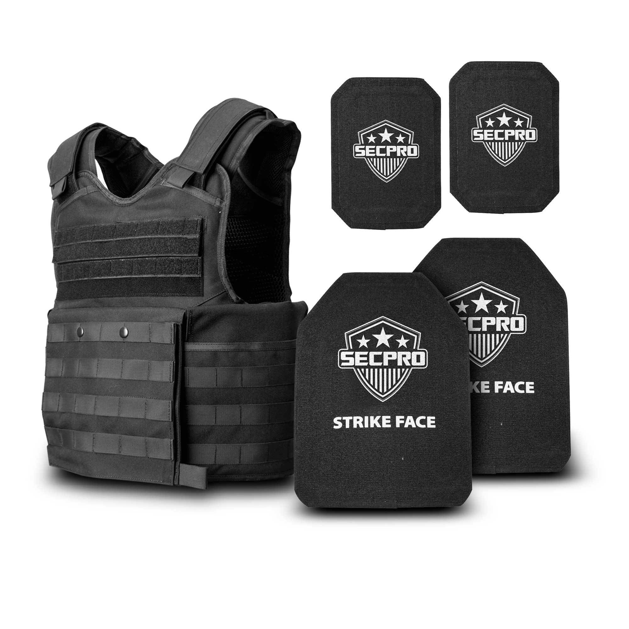 NEW Condor style Tactical Plate Carrier in Black OSFM