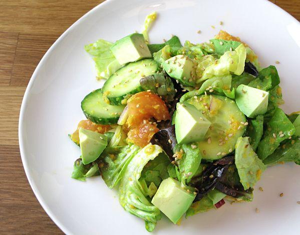 Detox Carrot and Ginger Dressing Salad
