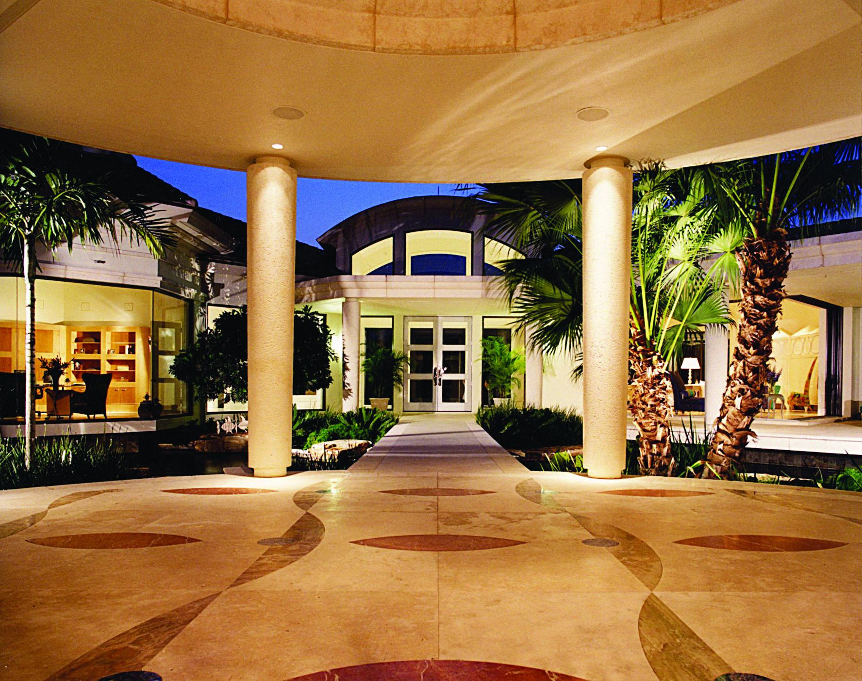 "the ""mirada"", a custom home plan designthe sater group as"