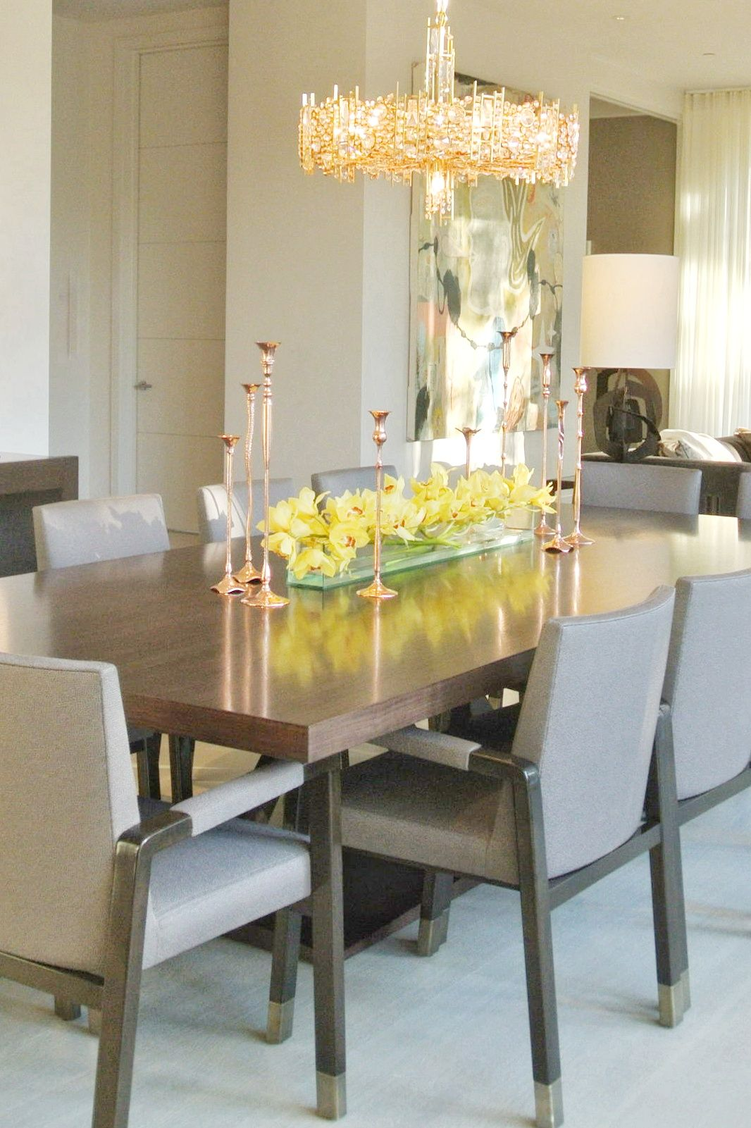 Atherton Contemporary Luxury Interior Design Classic Dining Room
