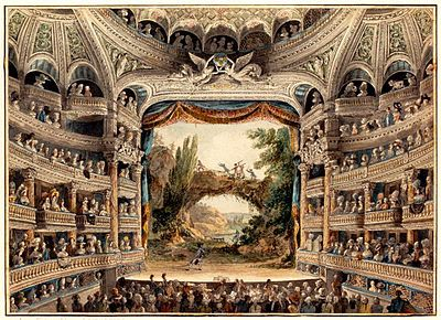 Theater Structure Wikipedia The Free Encyclopedia Ancient English 18th Century Paris