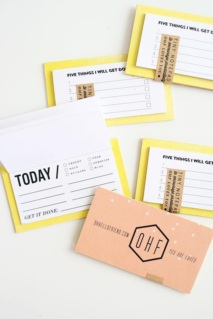 Tiny notepad business cards oh hello friend project hannah tiny notepad business cards oh hello friend colourmoves