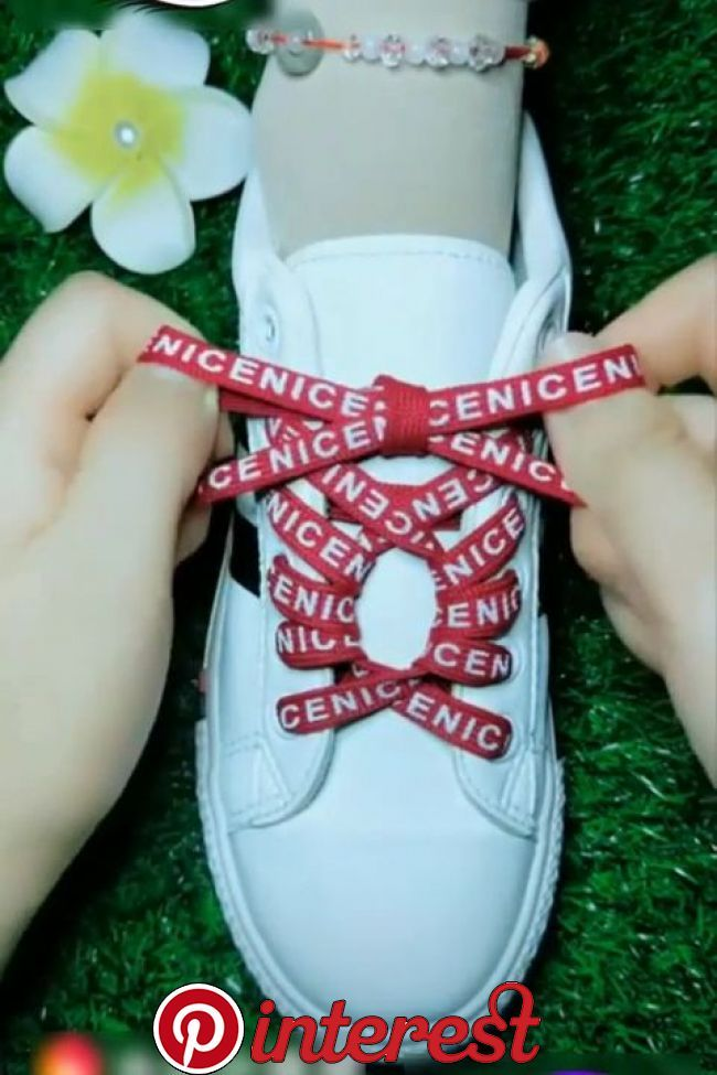 10 Ways to Lace Up Your Shoes Creatively   10 Ways to Lace Up Your Shoes Creatively