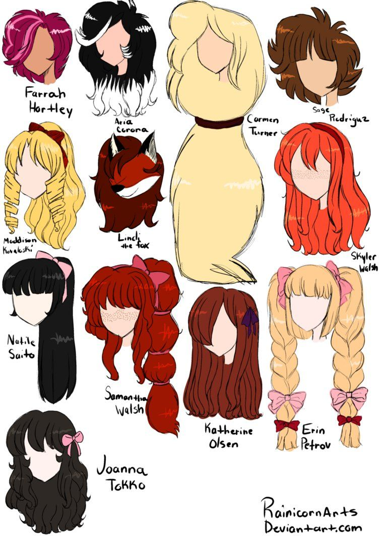 Long Hairstyles Anime Image Anime Hair Long Hair Styles Cool Hairstyles For Girls