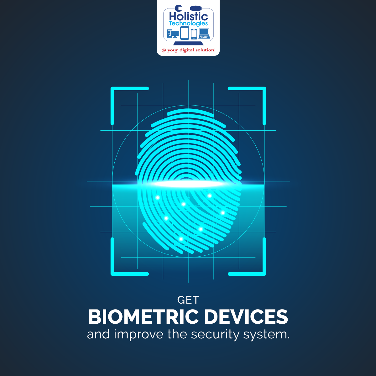 Security Is Always The Priority Of Everyone. Holistic