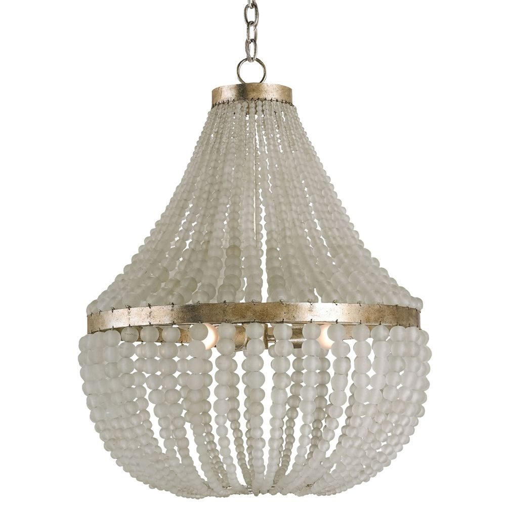 Lighting chandeliers chanteuse white beaded chandelier currey and company 9202 chanteuse 3 light chandelier silver granello indoor lighting chandeliers arubaitofo Choice Image