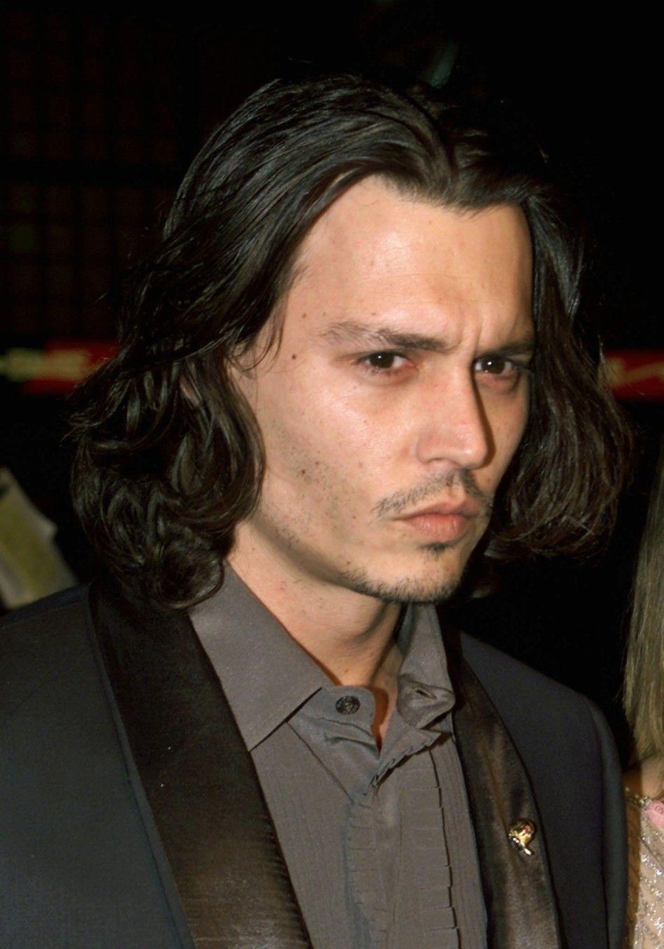 Johnny With Long Hair Johnny Depp Photo 32467264 Fanpop Johnny Depp Hairstyle Johnny Depp Johnny