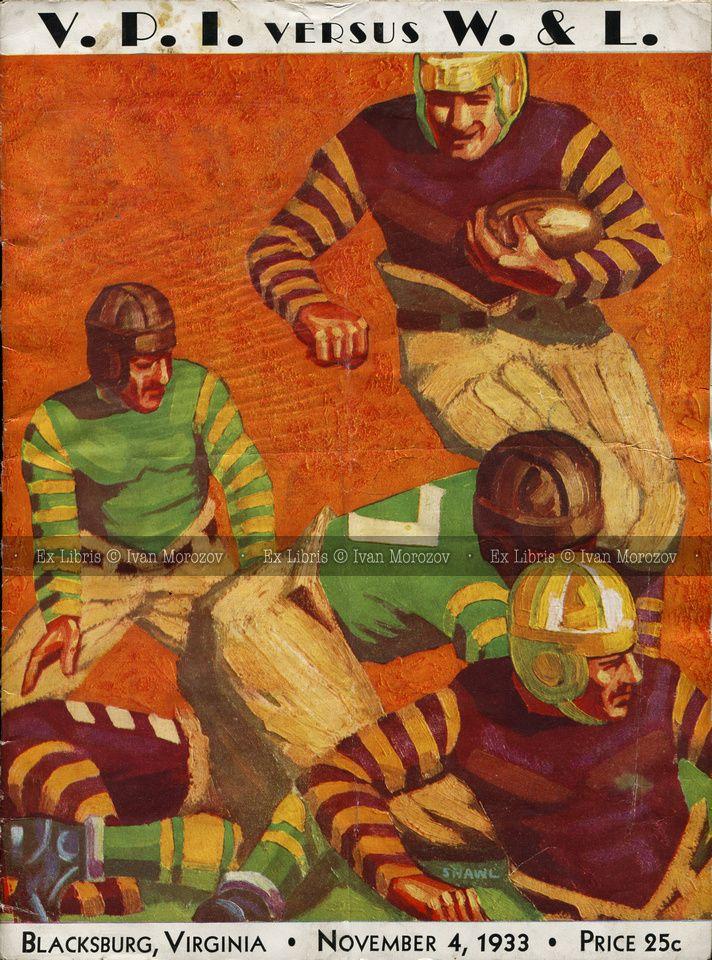 Pin on Virginia Tech Football Game Programs