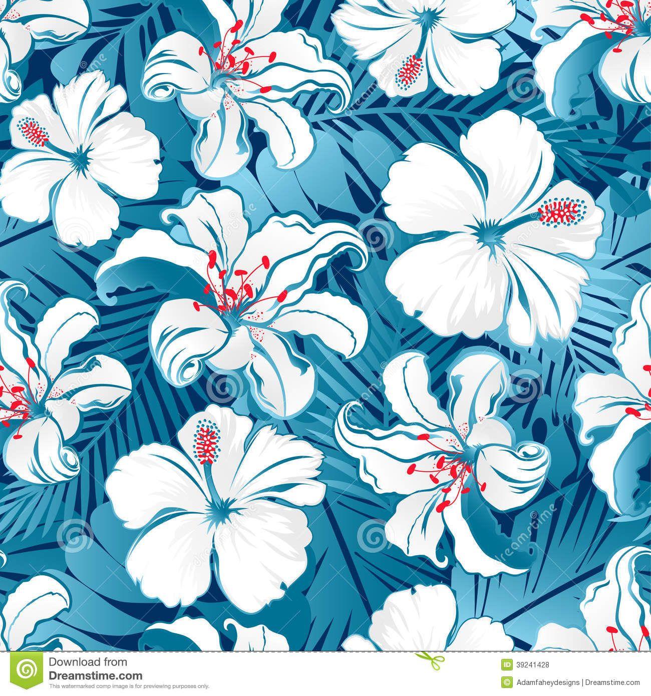 Vintage hawaiian desktop background
