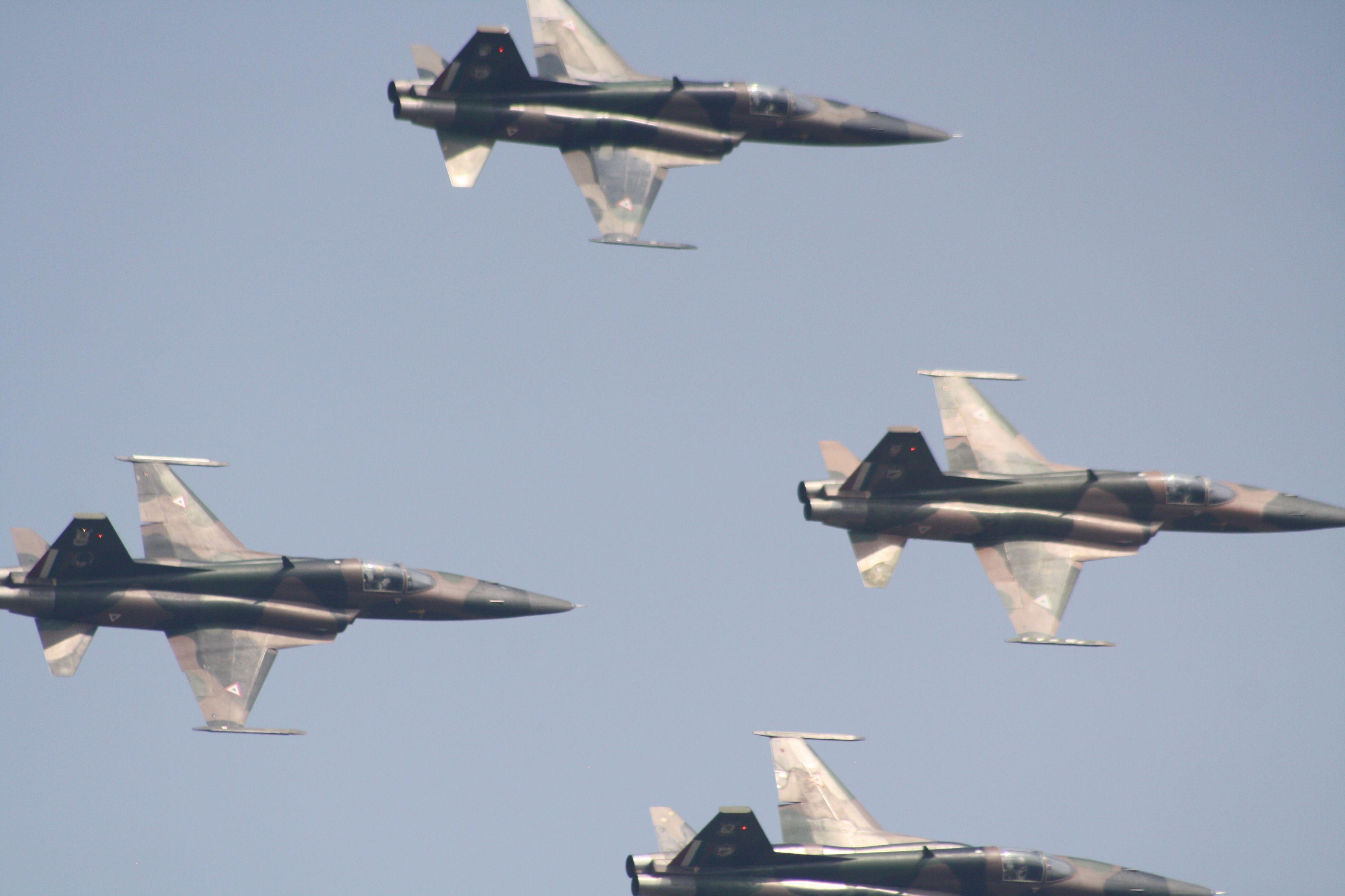 Exhibición aérea centenario de la fuerza aérea mexicana