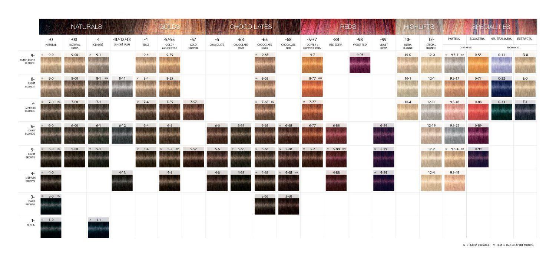 Schwarzkopf Hair Dye Colour Chart Heartpulsar