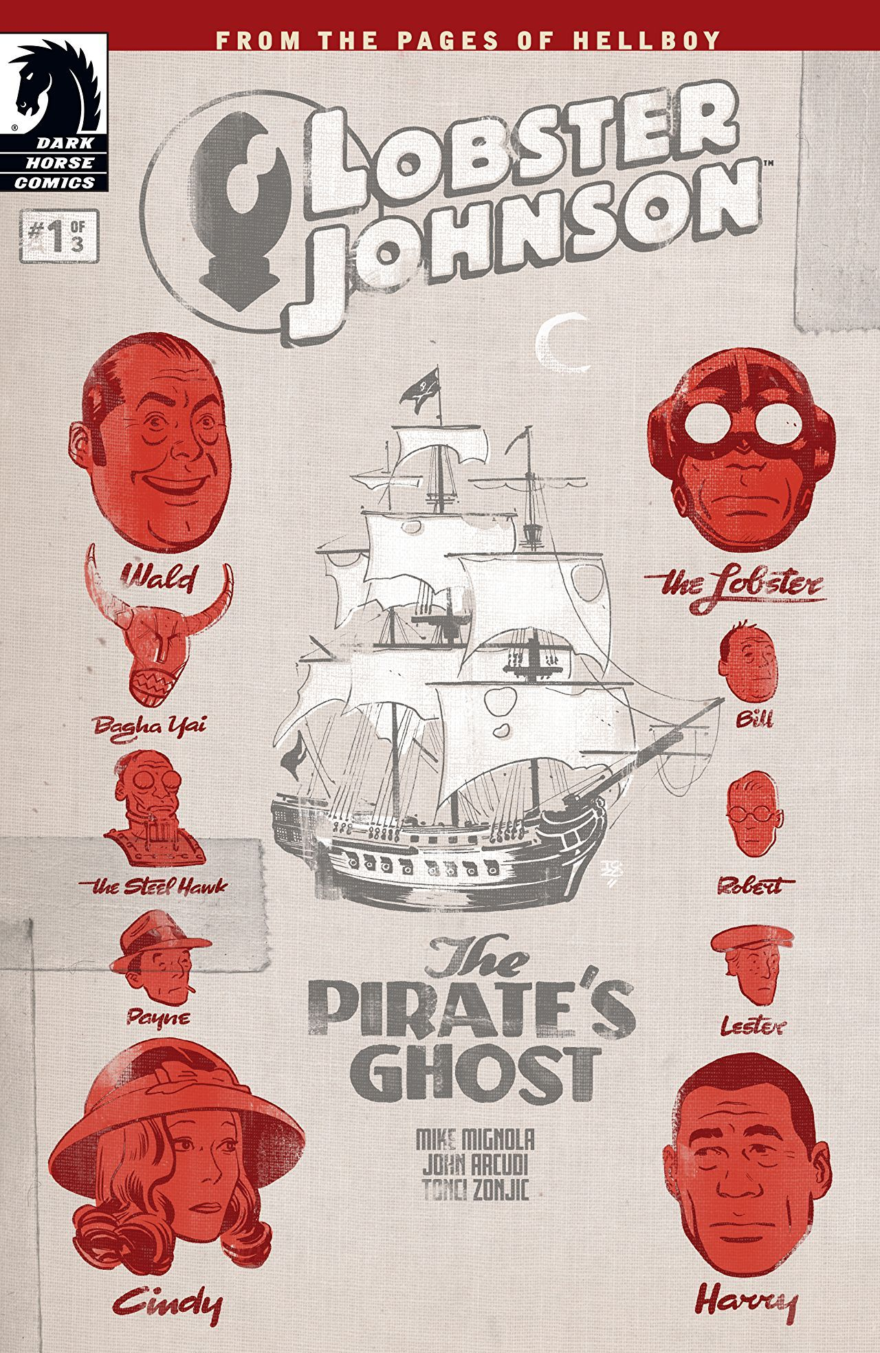 Download Free Lobster Johnson: The Pirate's Ghost #1-3 (2017)