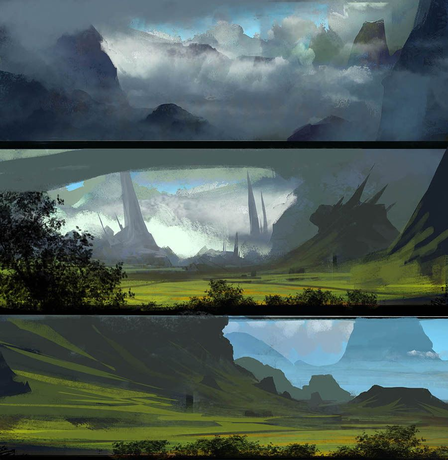 Fantasy Landscape Wallpaper: Pin By Rebecka Rains On Backgrounds Upfront