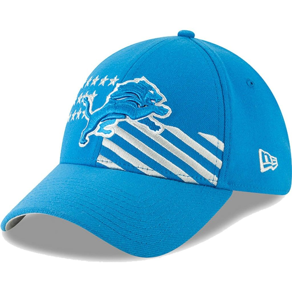 attractive price official images order online Detroit Lions New Era 2019 NFL Draft On-Stage Official 39THIRTY ...