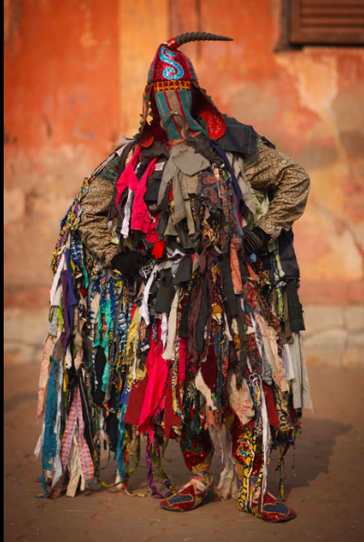Voodoo ceremony in OUIDAH, BENIN | CULTURAL COSTUMES AND