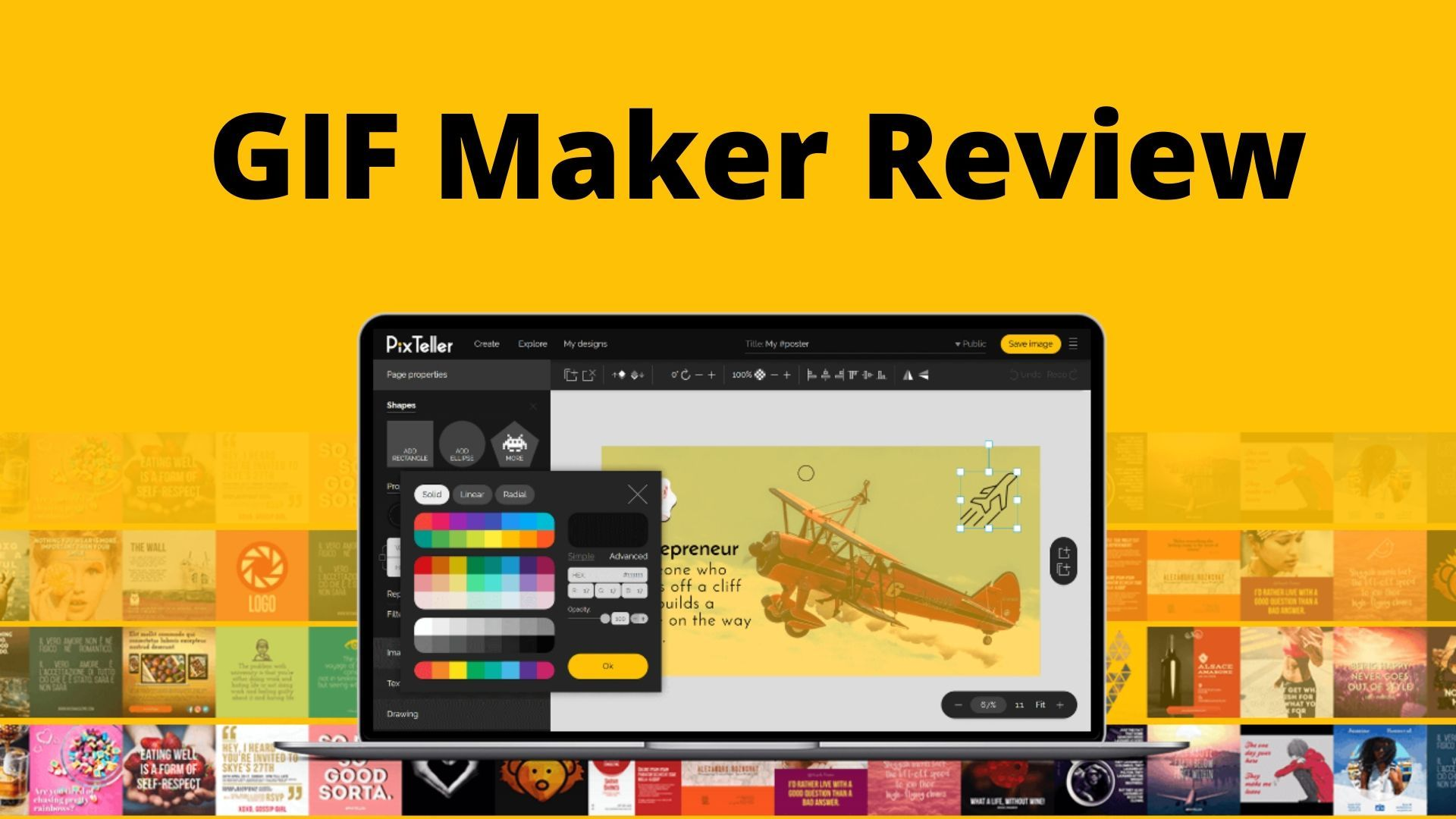 GIF Maker Review Video maker, Best ads, Video editing
