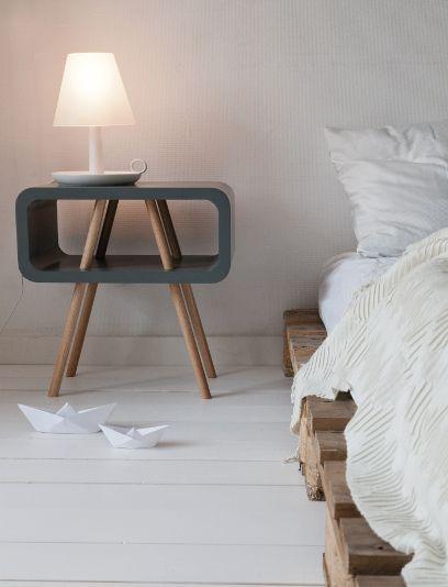 nachtkastjes tips leitmotiv bijzettafel meubels pinterest