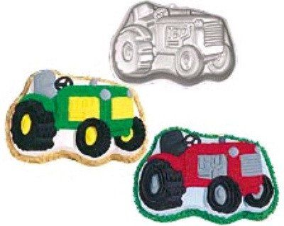 Farm Tractor Shaped Cake Pan By Wilton Shaped Cake Pans