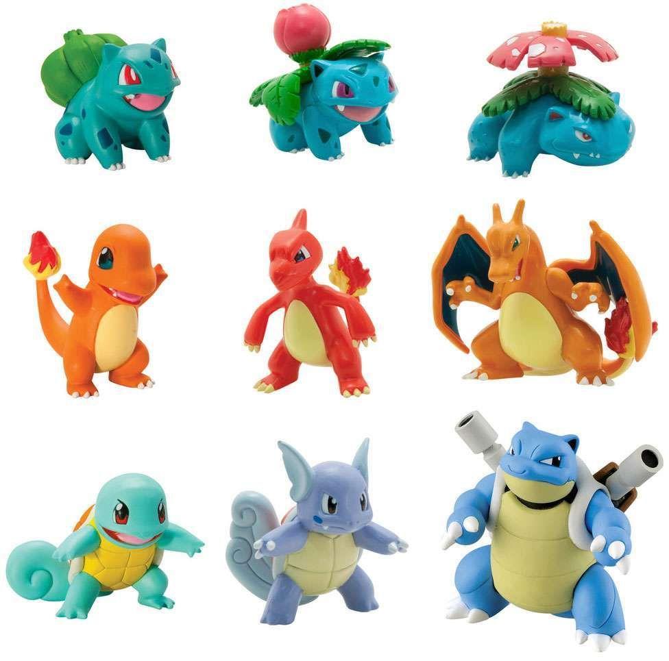 Bulbasaur Pokemon Dolls Keychain Plush New Pokemon; Figures; Plushes