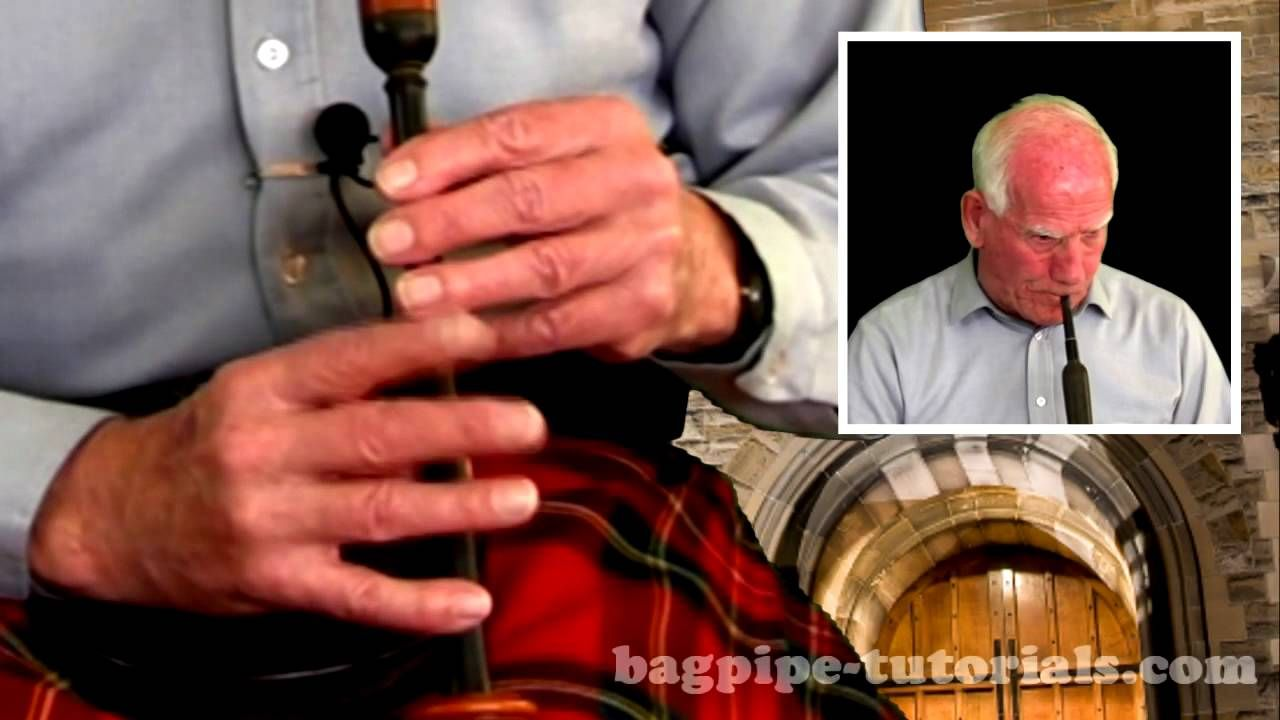 Amazing Grace A Bagpipe Lesson by Pipe Major Bill