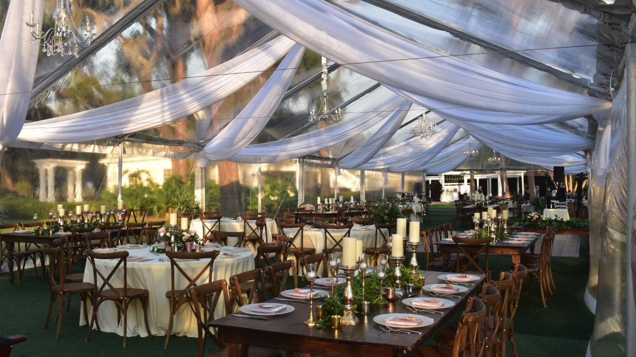 Such a beautiful day for a gorgeous wedding! -   17 wedding Backyard reception ideas