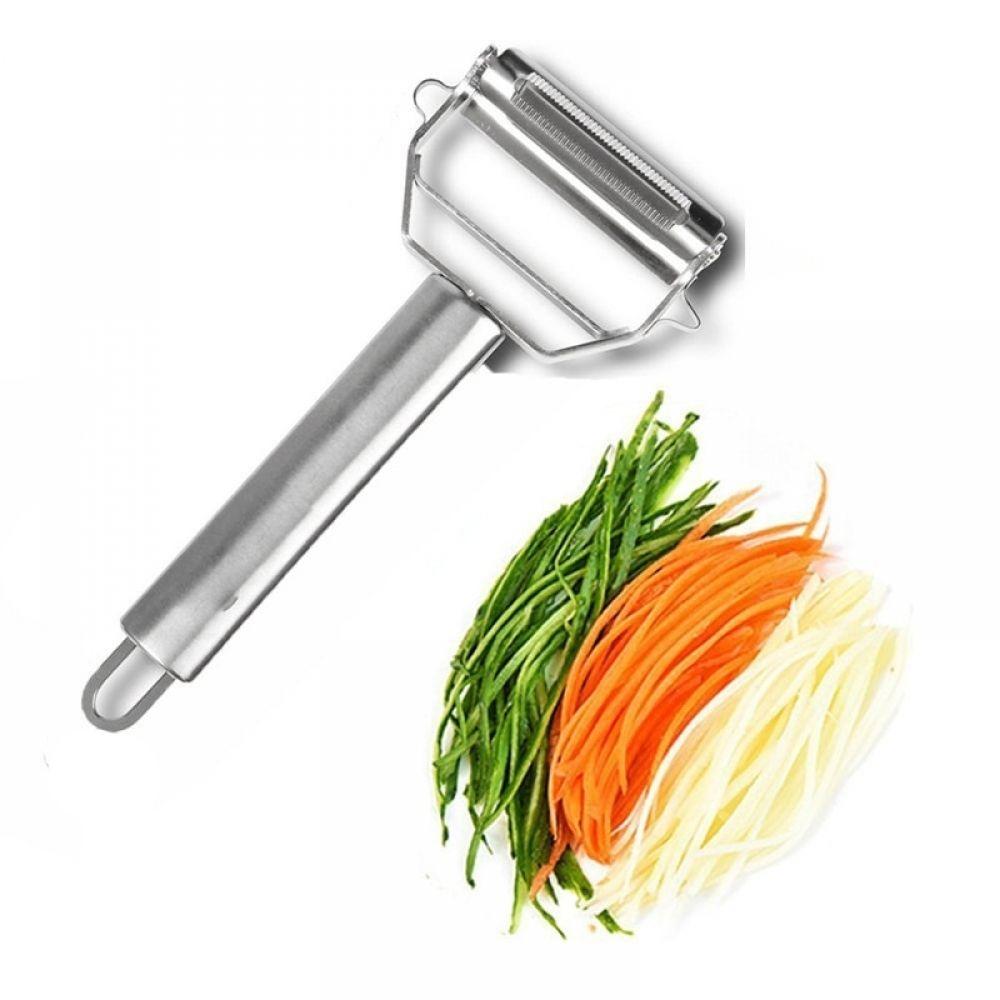 3PCS Set Stainless Steel kitchen Potato Cucumber Carrot Grater Julienne Peeler