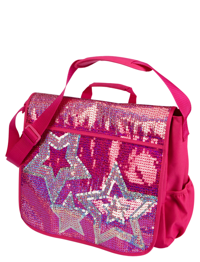 Sequin Stars Messenger Bag | Messengers | Backpacks & School ...