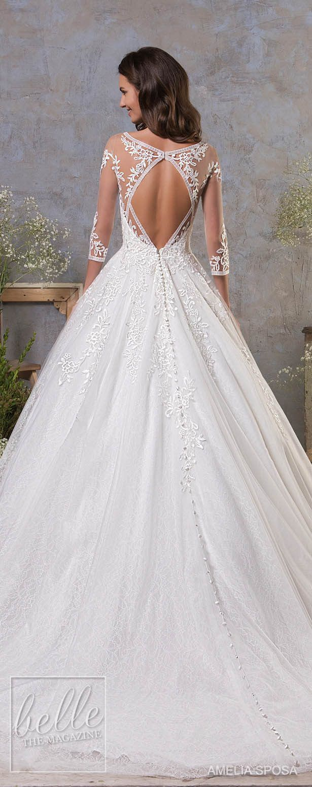 Amelia sposa fall wedding dresses in diy weddings