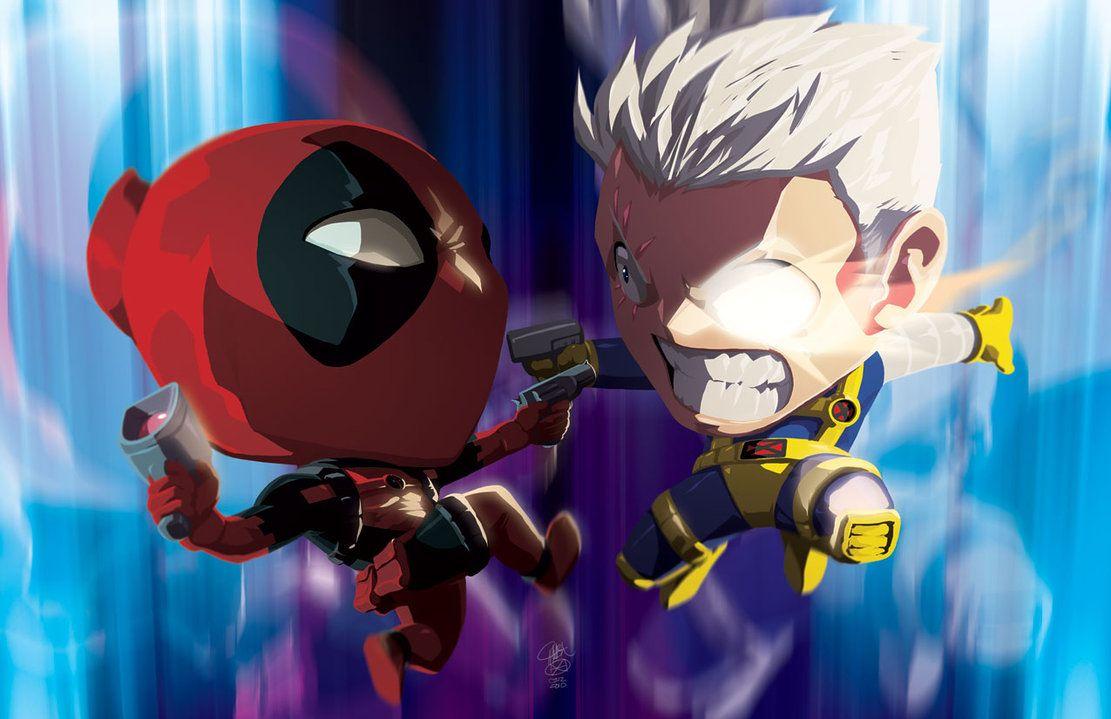 Cable vs. Deadpool...sorta...