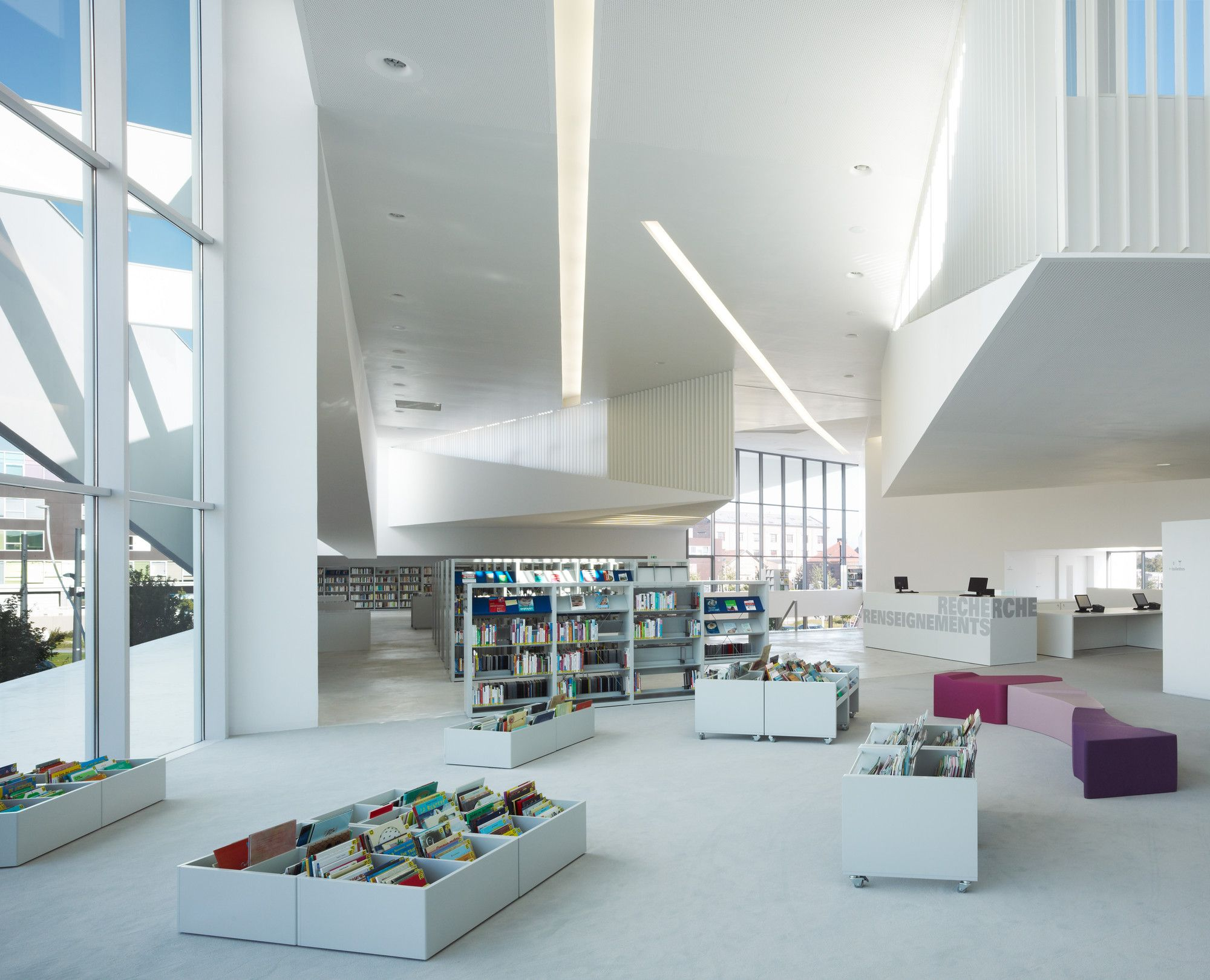 Gallery - Library in Anzin / Dominique Coulon & Associés - 17